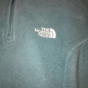 Size Small North Face Quarter-Zip Sweatshirt
